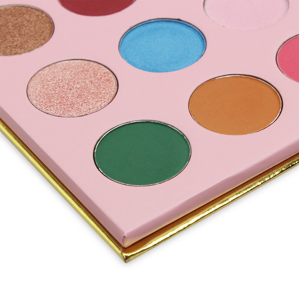 18 Colors Diamond Paillette Eyeshadow Palette High Gloss Shimmer Eye Shadow Waterproof Cosmetic Beauty Makeup Powder