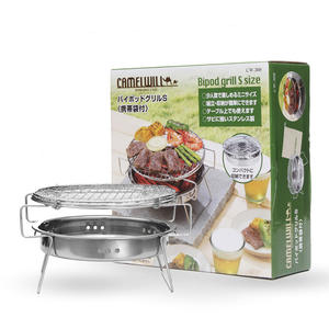 BARBECUE en plein air Camping Barbecue Portable à Charbon Bureau Gril Pliable Petit barbecue