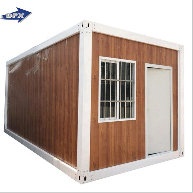 Mobile prefab wooden container house homesluxury living room