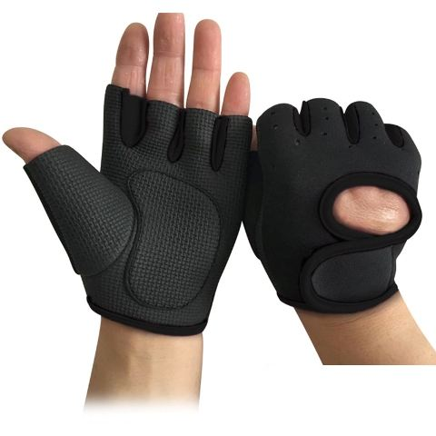Fine Quality half finger custom gym weight lifting gloves for men and women.