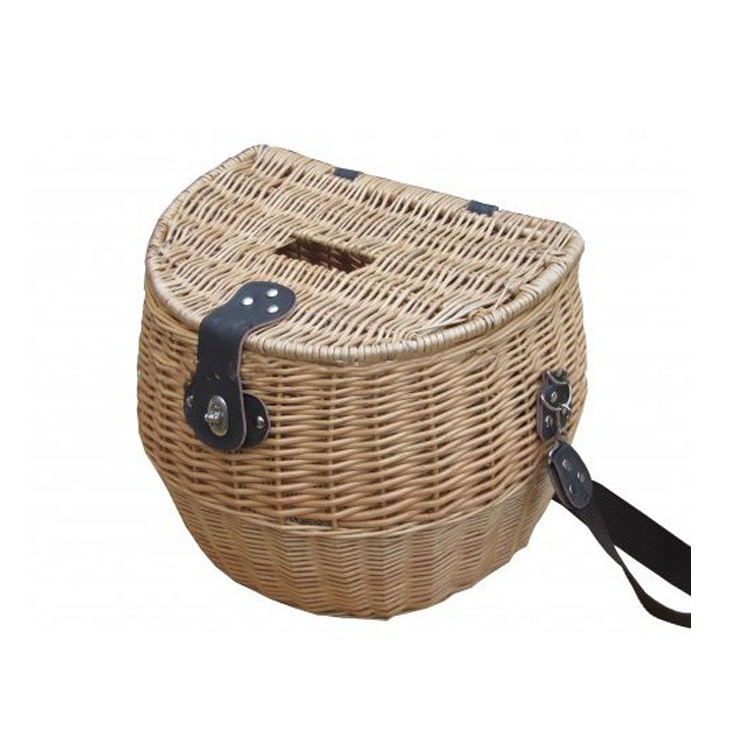 Wholesale Willow Wicker Fishing Holder Basket