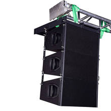 QYC passive speaker ev price + line array china+pro sound indoor line array for church
