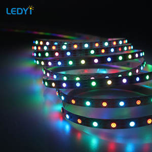 flexible 5050 smd addressable digital smart dream color rgb rgbw tape light ws2811 ws2812 ws2812b led strip