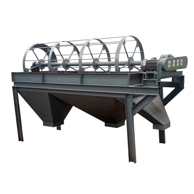 Factory price high quality powder grading wood chip tumbler vibrating screen