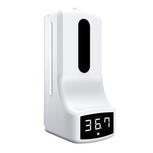 k9 wall mounted electric touchless foaming liquid automatic hand soap dispenser with temp measurement