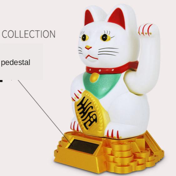 Maneki Neko Lucky Cat Ceramic Harmony CellPhone Strap
