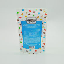 Food grade plastic customized cookie poly bags for baked pretzels sticks