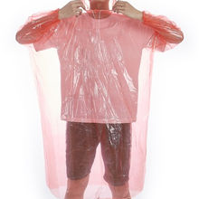 Disposable raincoat outdoor clothing waterproof transparent raincoat