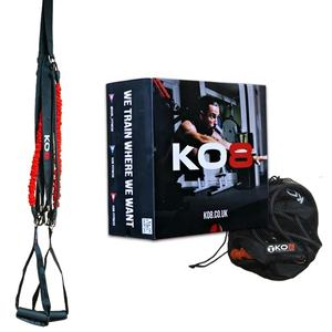 Wellshow Sport KO8 Functional Training System Fitness Suspension Resistance Trainer Training Band Bungee Cord Rope Speed Agility