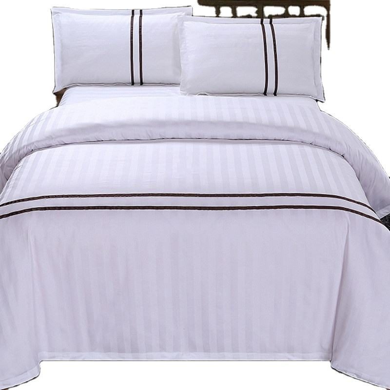 Factory Customized Luxury 5 Star Sheets Egyptian 1000 Cotton Count Wholesale High Quality Moroccan Hotel Bed Sheet Set