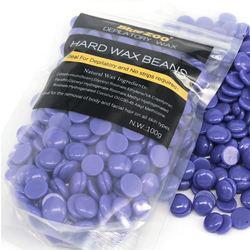 Best Selling 100g Lavender Hard Depilatory Wax Beans For Beauty Salon