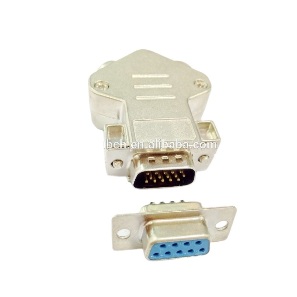 DB Dubbele Gat 9 Pin Waterdichte Draad Connector