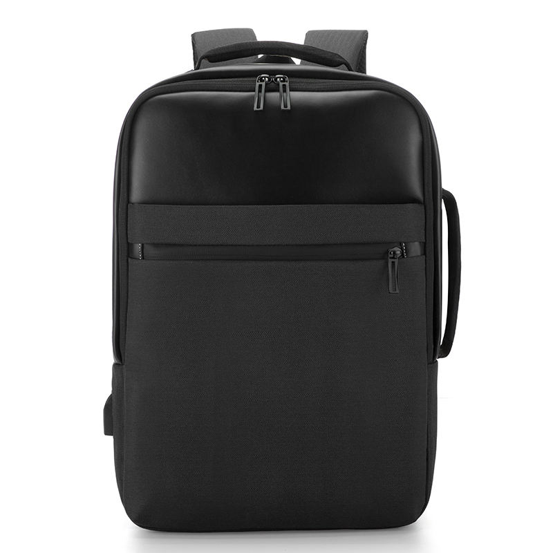 Custom laptop 14 inch backpack slim anti theft hidden zipper usb port handbag laptop backpack