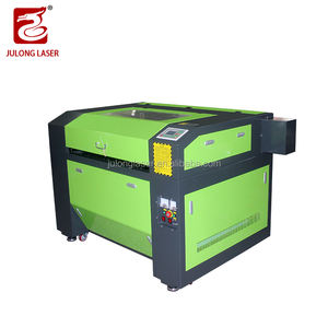 Liaocheng Julong Laser 900*600 Mm 80 W Professionele Gemonteerd 9060 Co2 Hout Laser Printer