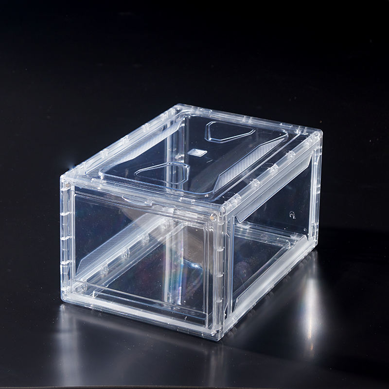 Shoe box plastic acrylic box storage container