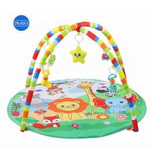 Baby educational toy Similar to fisher price forest round kids carpet baby play gym playmat with plush squirrel baby toys