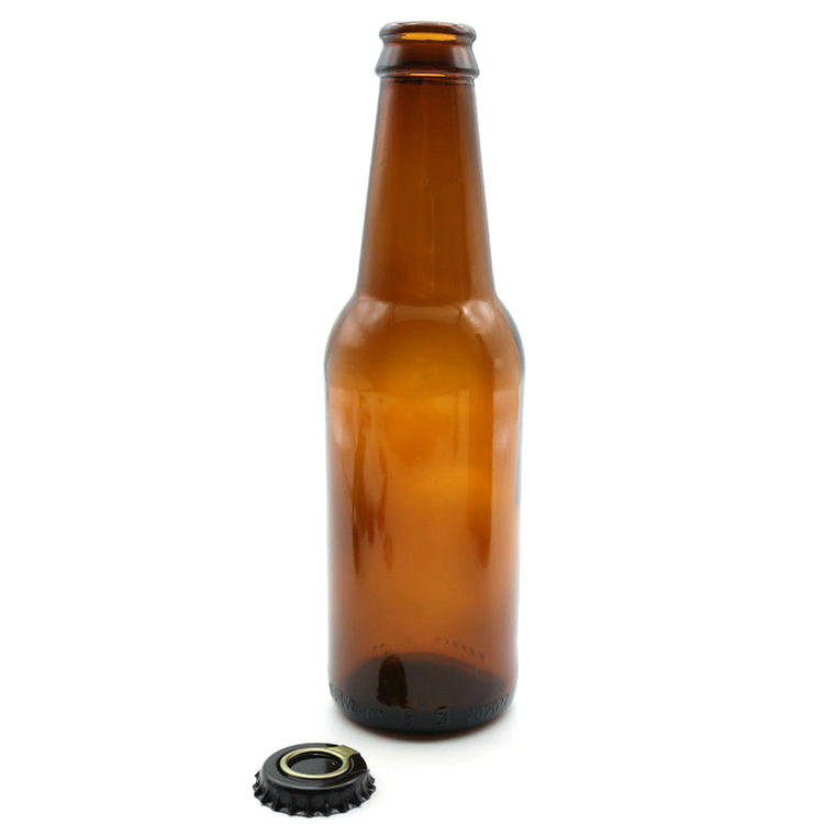 Premium Quality Lager Beer Bottle 250ml with Easy Pry-Off Cap