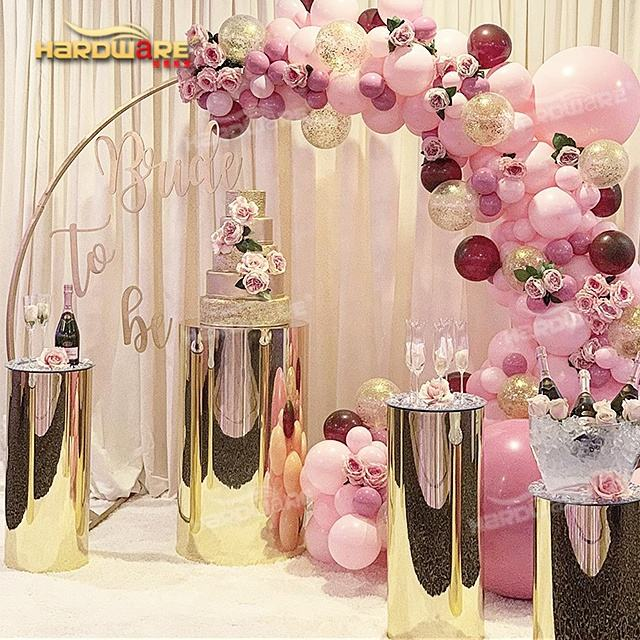 Wedding event furniture changed color pillar party supplies decorations