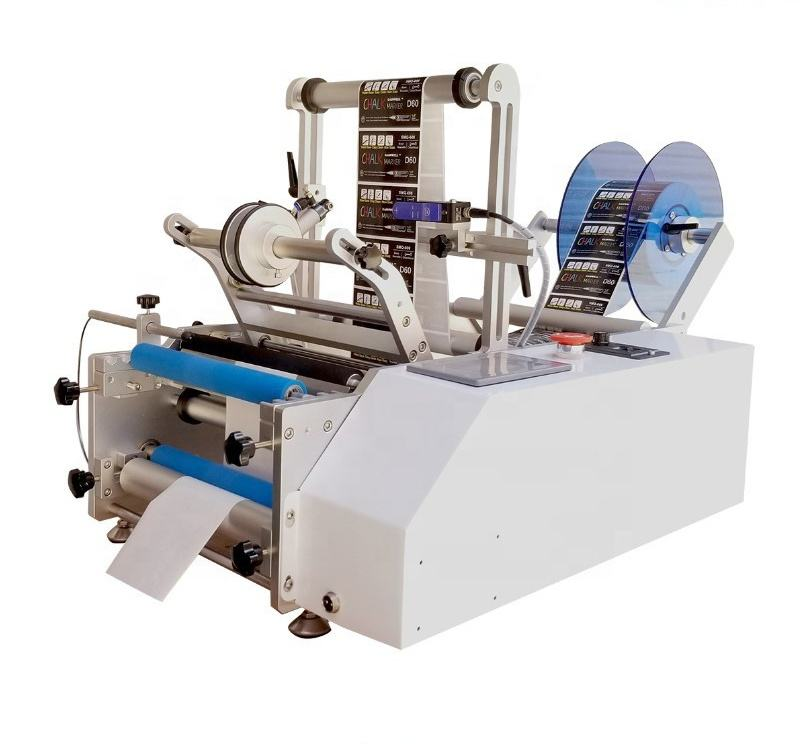 20200314J Small Labeling Machine for bottles, cans