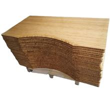 Eco friendly  height adjustable desk solid bamboo table top