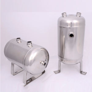 YC-10L ss304 stainless steel air tank gas storage pressure vessel buffer air compressor parts small air tank