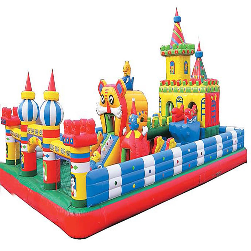 Ging Builders Hot Sale Pvc Inflatables Castle Bouncy Jumping Bouncer, Cheap Price Outdoor Inflatable Bounce House Theme Park