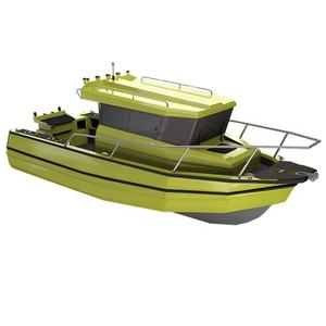 6.85m 22.5ft Easy craft aluminium center cabin fishing boat with walkaround for sale
