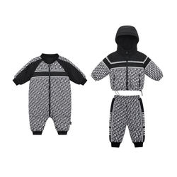 New Design Winter Over Coat Kids Clothing Set Babe Zipper Hooded Newborn Clothes Puffer Jacket Custom Design Chaqueta Para Bebek