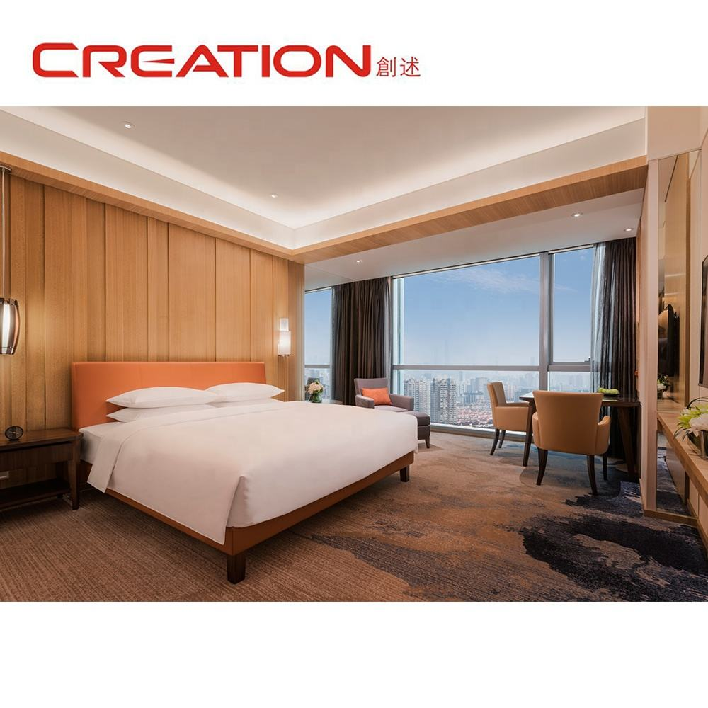 Best sale luxurious bedroom sets low price 5 star hotel furniture factory