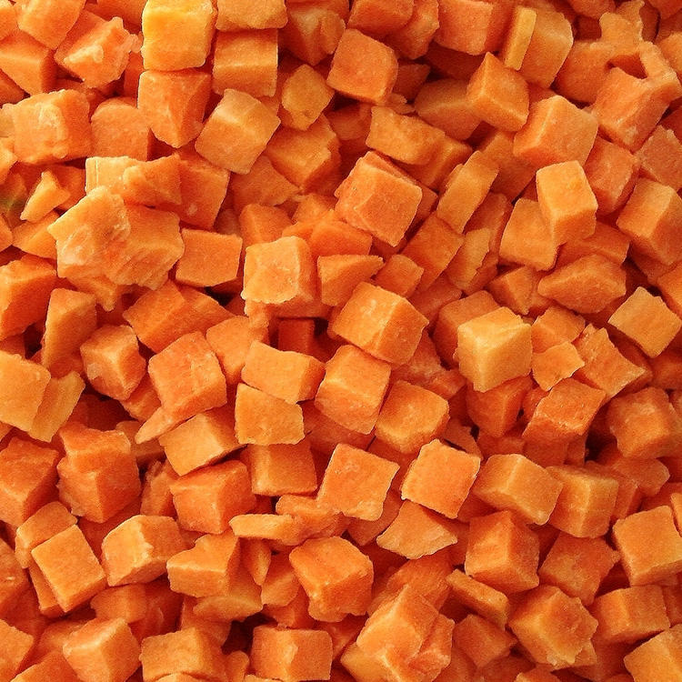 Best Sale Frozen Red Cubes Frozen Carrots