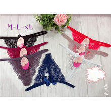 Favorable price top grade women seamless fancy lace panty