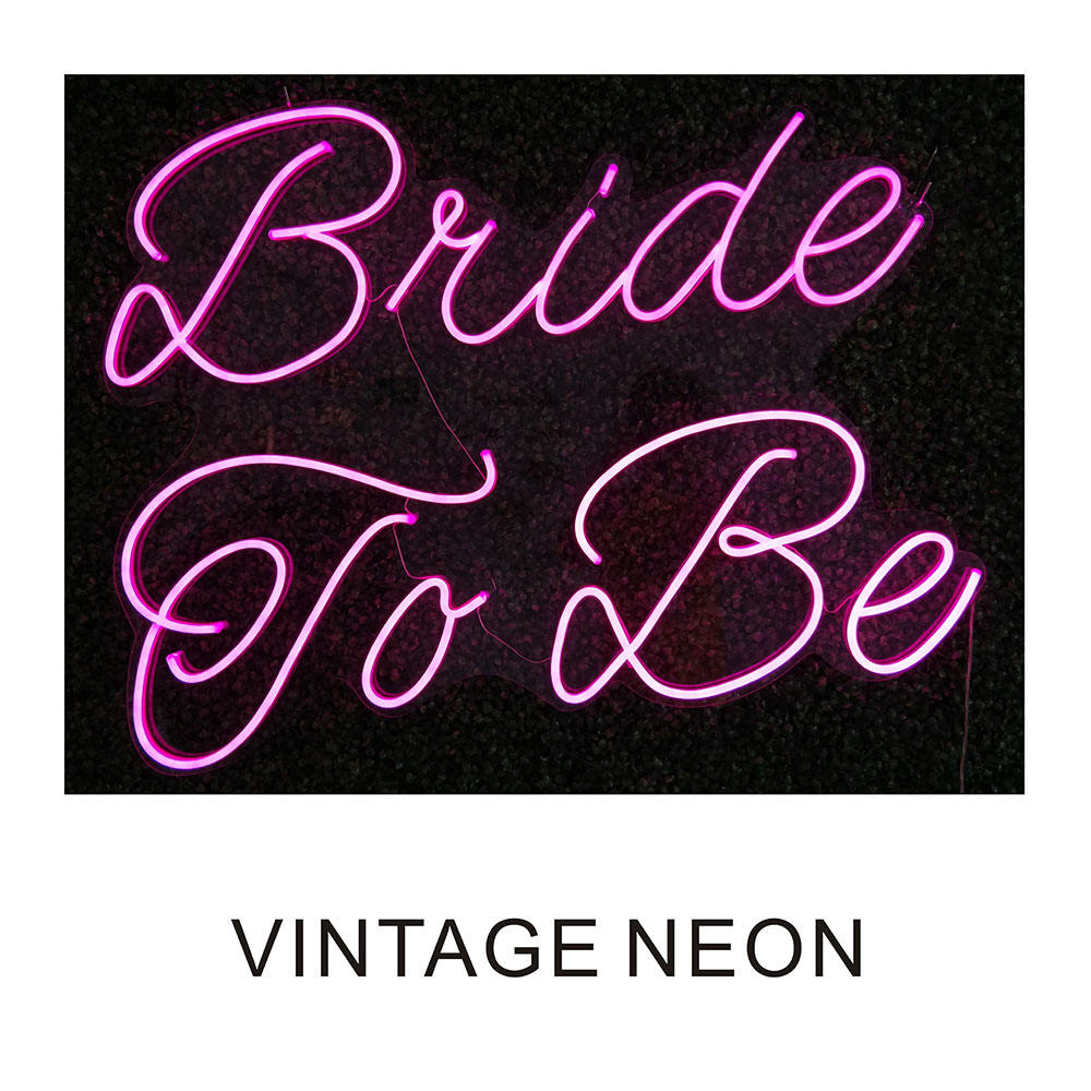 Bride To Be neon I love you wedding decoration custom acrylic LED edge lit letter sign 3D open LED neon sign letter