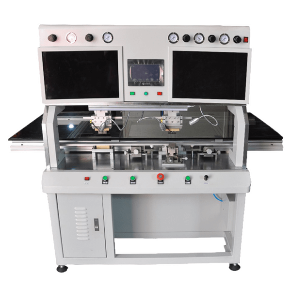 2019 High Precision Silman Single head double head lcd panel repair COF ACF Bonding machine B100 for lcd TV Panel repair