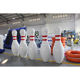 Bowling Ball Inflatable Bowling Game Giant Inflatable Bowling Set Game With Zorb Ball For Adult Outdoor Snowfield Games