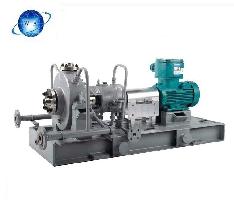 china s best supplier of chemical process with high polymer pp large capacity api 610 standard hot oil pipeline centrifugal pump