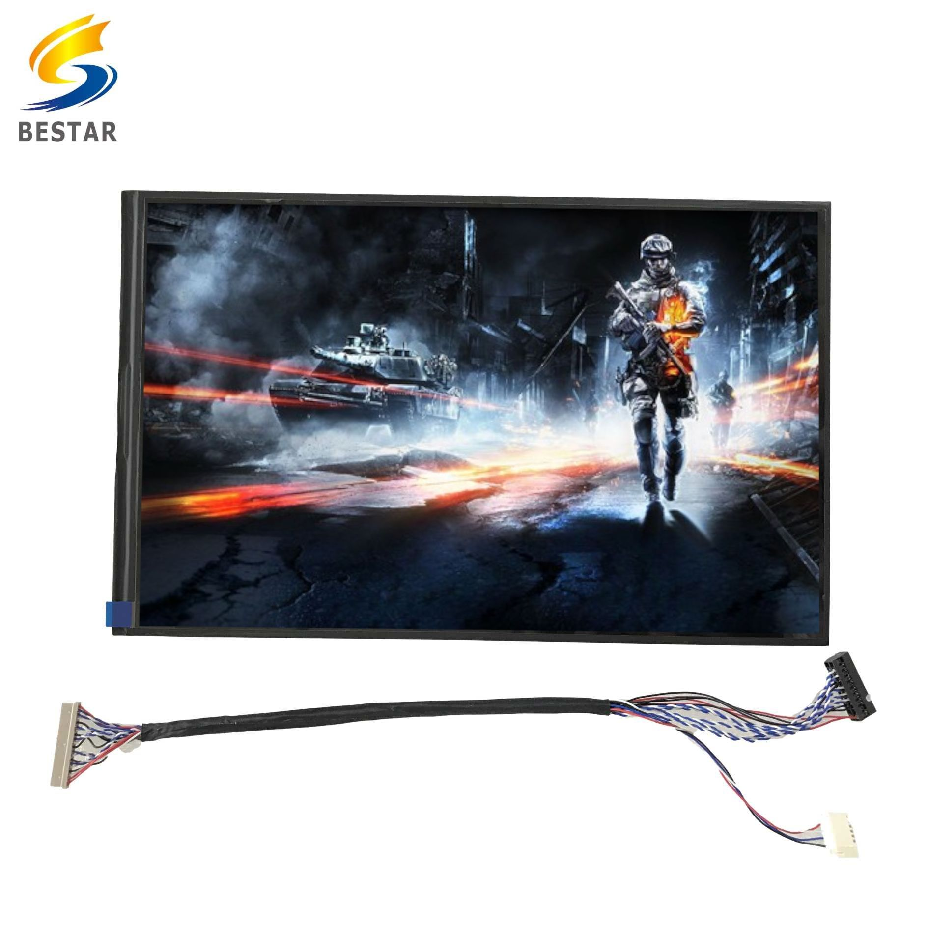 Hot selling display electronic components LCD 10.1 inch screen panels