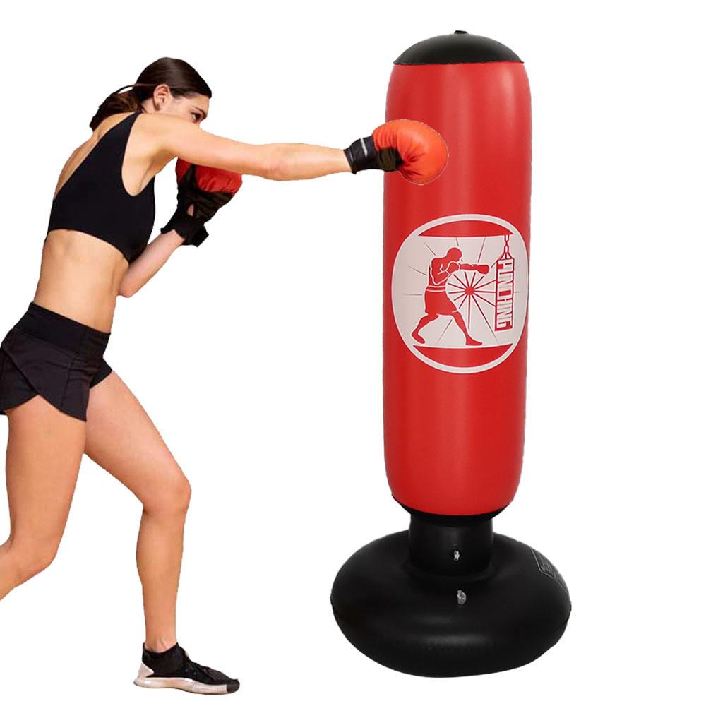 50cm Heavy Punching Bags Iron Hanging Chains Boxing Sandbag Muay