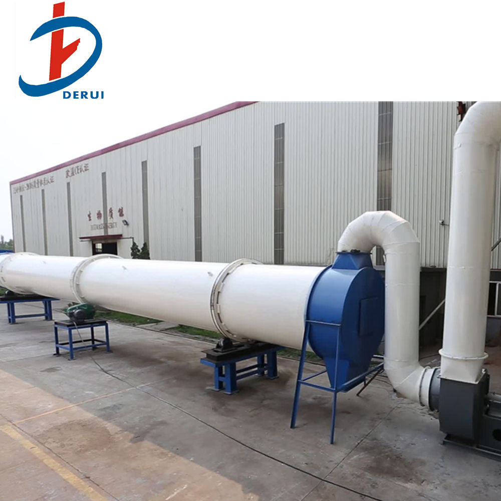 Sawdust Rotary Dryer Biomass Drum Dryer Sawdust Drying Line