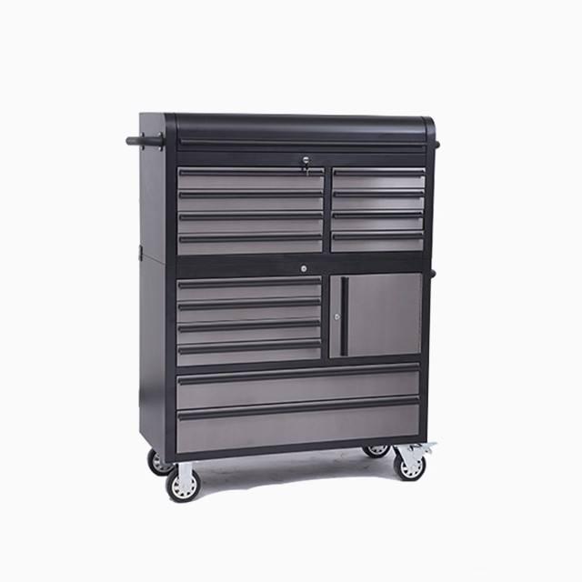 Hyxion Exporter le produit coffre à outils de 320 pièces coffre à outils industriel coffre outils 2 tiroirs Personnaliser