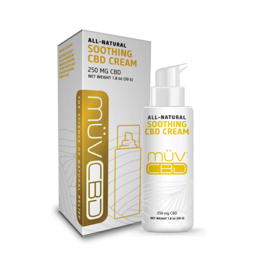 Branded, Premium Soothing CBD Cream, 250 mg, ready to sell in your retail channel. SAVE 20% ON YOUR FIRST ORDER!