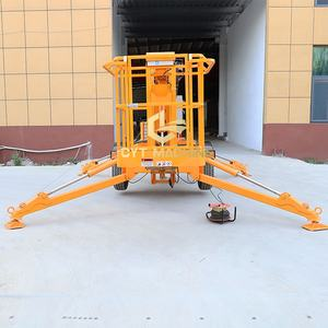 8~20m Trailer Mounted Articulated Boom Lift Aerial Work Platform
