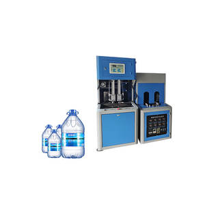 large output capacity pet milk bottle manual extrusion blow blowing molding machine in india