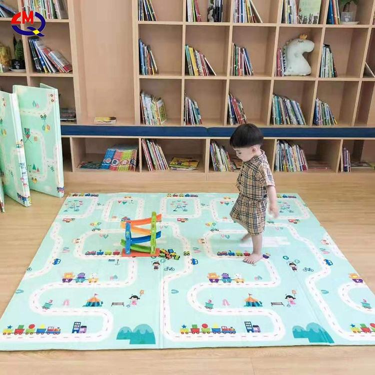 Baby puzzle game play mat xpe children's thickened toys carpet kids crawling mat