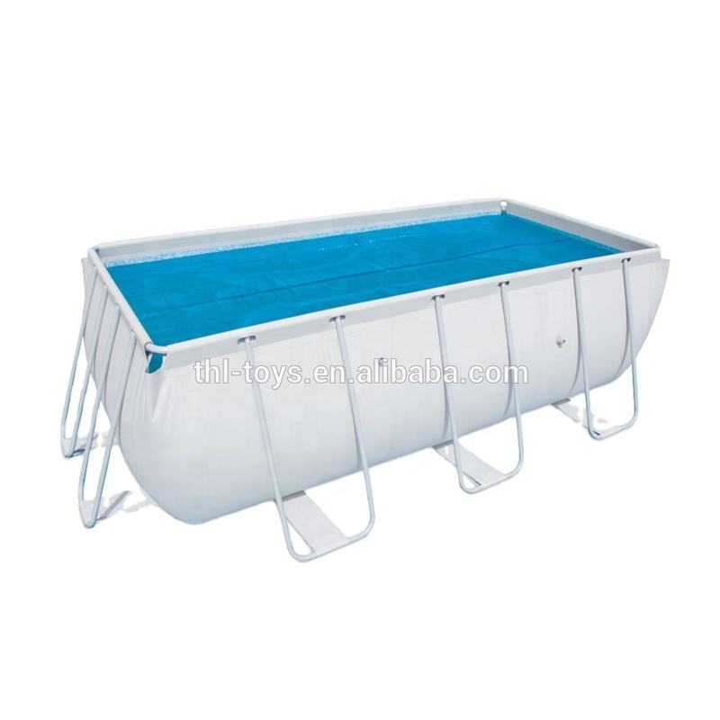 used PVC material swimming pool for sale, portable frame metal swimming pool