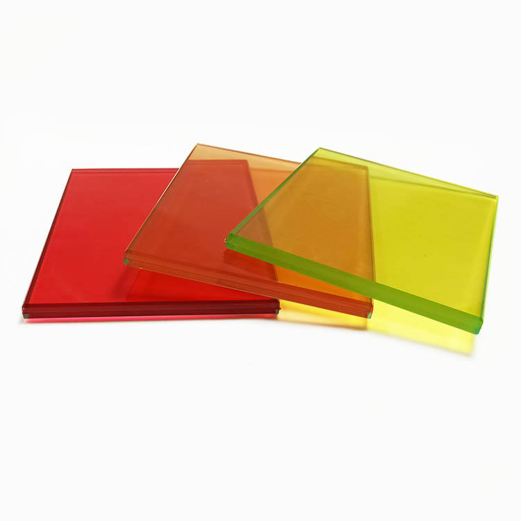 colored pvb film tempered laminated glass tinted double toughened laminated glazing china supplier price vidro laminado temperad
