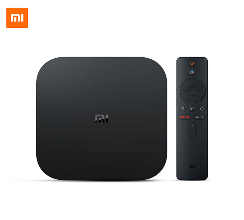 Originale Globale Xiaomi Mi TV Box S 4K HDR Android TV 8.1 Ultra HD 2G 8G WIFI google Cast Netflix IPTV Set top Box 4 Lettore Multimediale