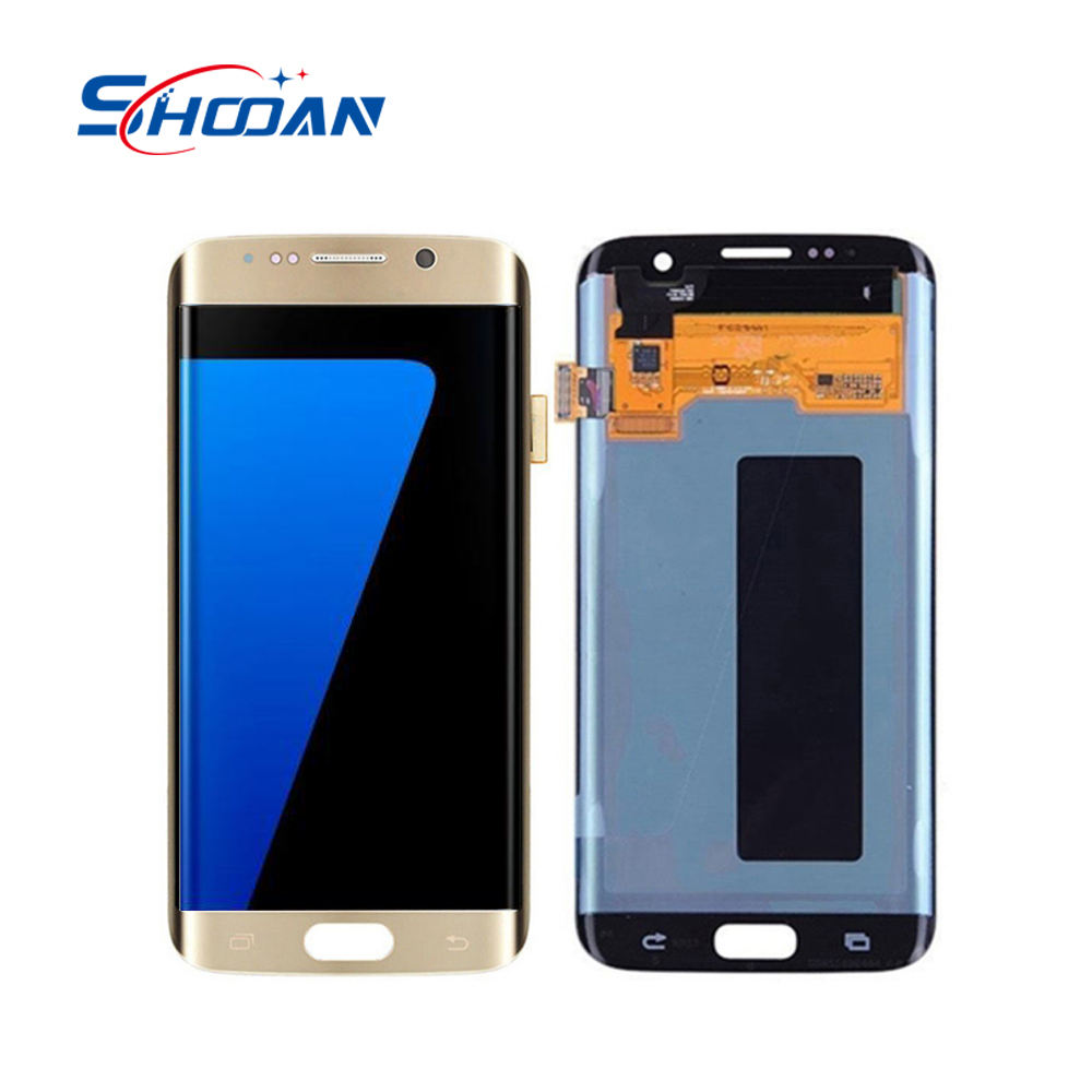 Original OEM OLED LCD Display For Samsung Galaxy S7 edge G935F LCD Touch Screen With Digitizer Assembly