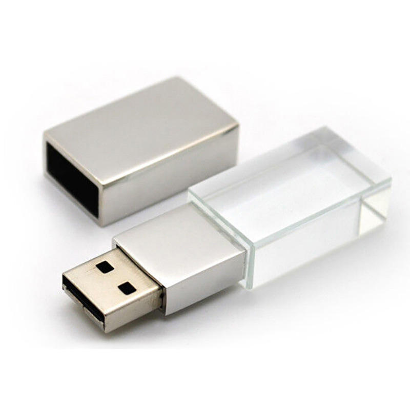 Hot Selling Custom Logo usb flash drive crystal for sale with factory price