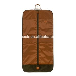 Wholesale promotional foldable fashion custom non woven suit cover garment bag