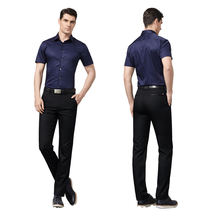 Wholesale custom formal fashion stretch mens pencil bottom pants